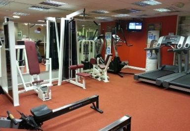 GYM EQUIPMENT AT PACE HEALTH CLUB NORTHAMPTON