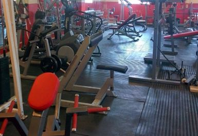 main gym area at Area 51 Southampton