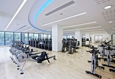 MAIN GYM AREA AT PANCRAS SQUARE LEISURE LONDON