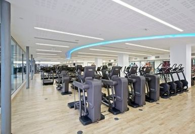 GYM EQUIPMENT AT PANCRAS LEISURE CENTRE LONDON