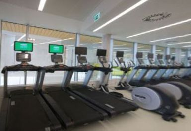 treadmills at Splashpoint Worthing