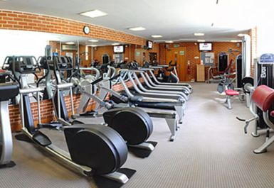 gym equipment at The Kings Club London