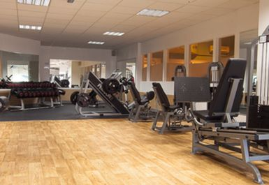 WEIGHTS AREA AT ARROW VALLEY HEALTH CLUB REDDITCH