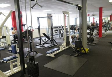 Weights area @ Phoenix Gym Norwich