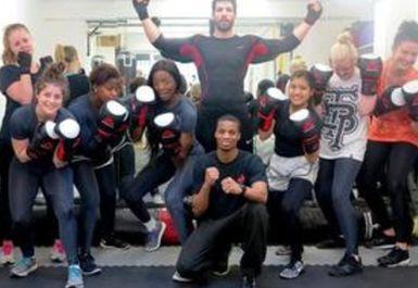 moreno boxing group session