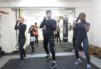 moreno boxing group session