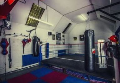 North London Boxing Club ring