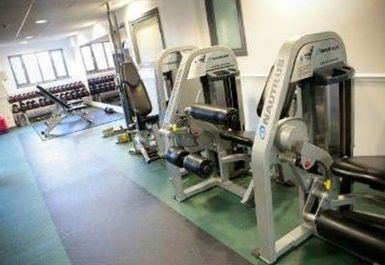 free weights at The Beacon Sports Centre and Theatre