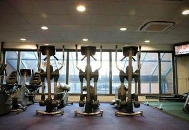 cross trainer at The Beacon Sports Centre and Theatre