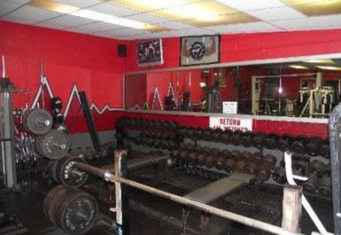 Weights Areaat Fitness Factory Ellesmere Port