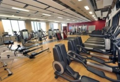 main gym area at Tipton Leisure Centre