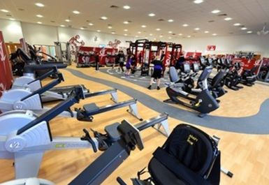 main gym area at Portway Lifestyle Centre