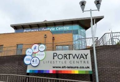 entrance at Portway Lifestyle Centre