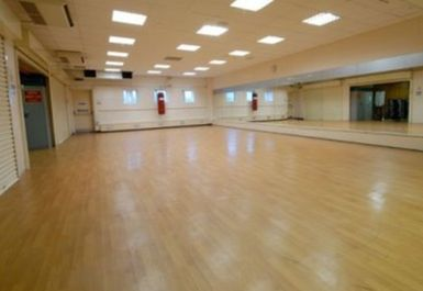 EXERCISE STUDIO AT SMETHWICK SWIMMING CENTRE BIRMINGHAM