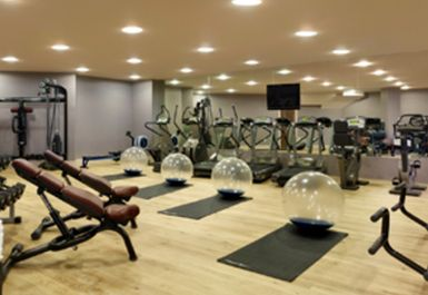 main gym area at Chelsea Harbour Hotel
