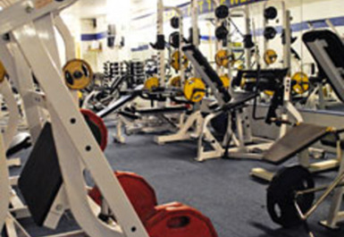 GYM EQUIPMENT AT E4 FITNESS AND LEISURE LONDON