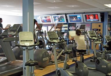 main gym area at topnotch health club brentford