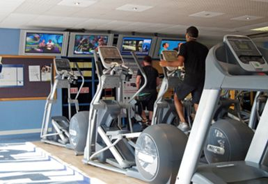 cross trainers at topnotch health club brentford
