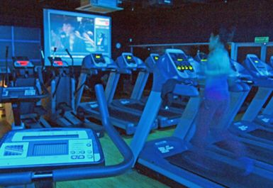 treadmills at topnotch healthclub brentford