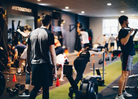 Royal County of Berkshire fitness club picture