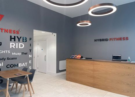 Image from Hybrid Fitness Canary Wharf