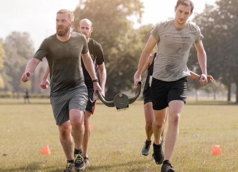Image from BMF RAVENSCOURT PARK BOOTCAMP