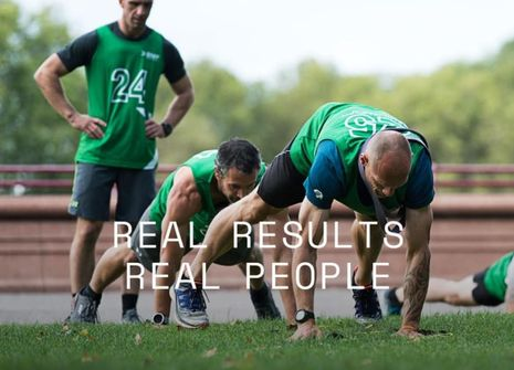 Image from BMF GUNNERSBURY PARK BOOTCAMP