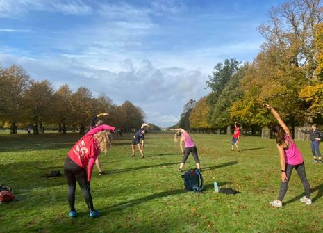 Image from BMF MOTSPUR PARK BOOTCAMP
