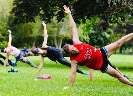 Image from BMF NONSUCH PARK BOOTCAMP