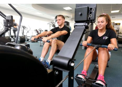 University of Brighton Eastbourne Sports Centre picture