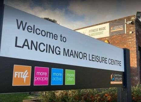 Image from Lancing Manor Leisure Centre