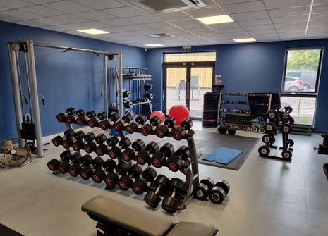 Image from The Park Centre's Health and Fitness Suite