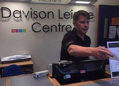 Image from Davison Leisure Centre