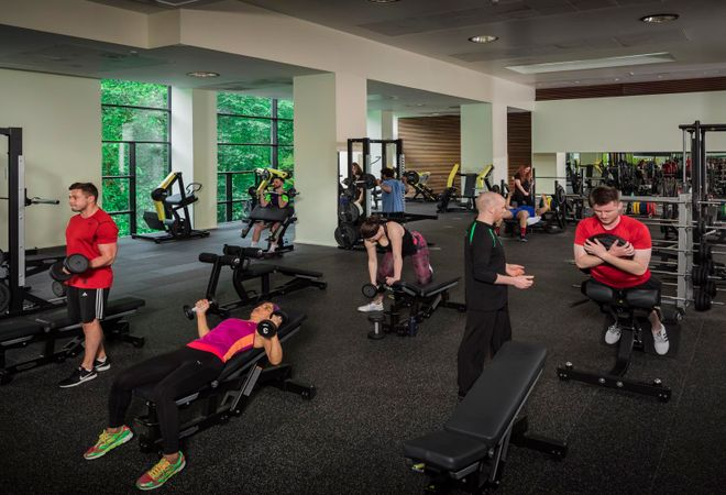 Nuffield Health Edinburgh Fountain Park Fitness Wellbeing Gym Edinburgh Eh11