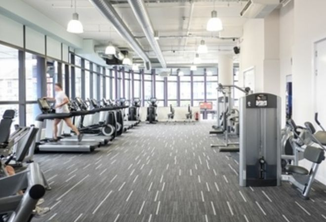 treadmills at Anytime Fitness Leeds