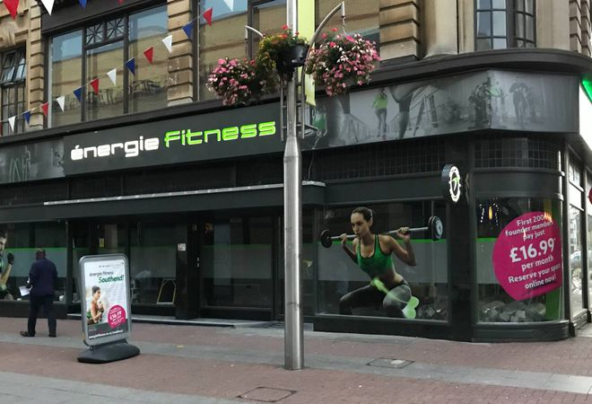 Energie Fitness Southend