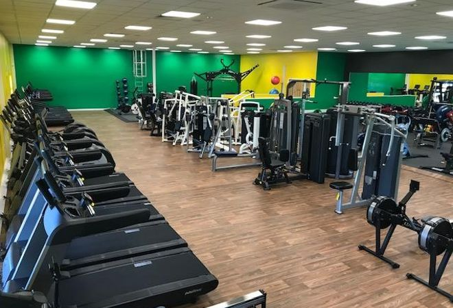 Gym at Jeffrey Humble FC picture