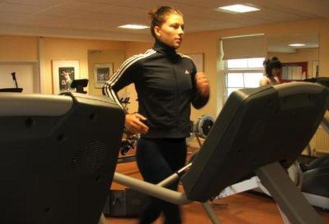 treadmill at Cranfield University Fitness Centre