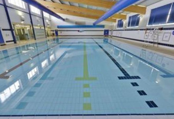Swimming Pool at Southglade Leisure Centre Nottingham