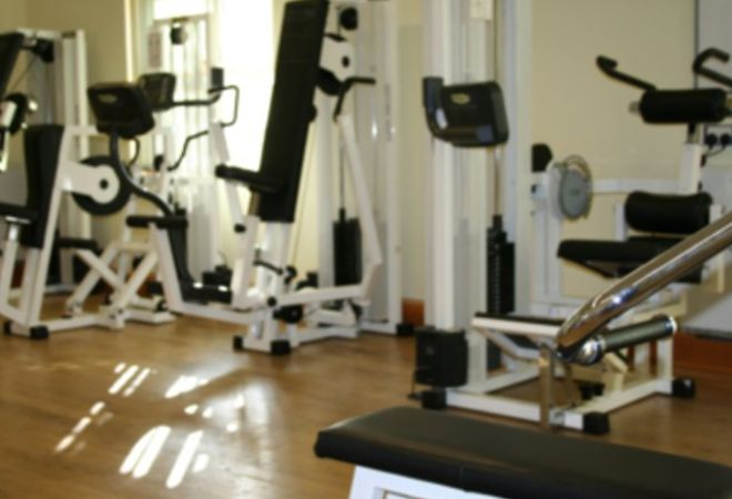 GYM EQUIPMENT AT GREENBANK SPORTS ACADEMY LIVERPOOL