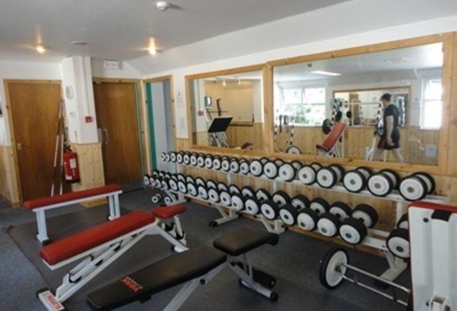 Weights at Falkirk Health Club
