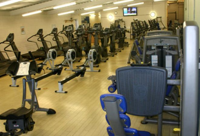Main Gym Area at Greenway Centre Bristol