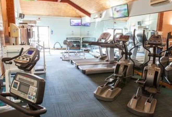 cardio equipment @ Searles Leisure Resort