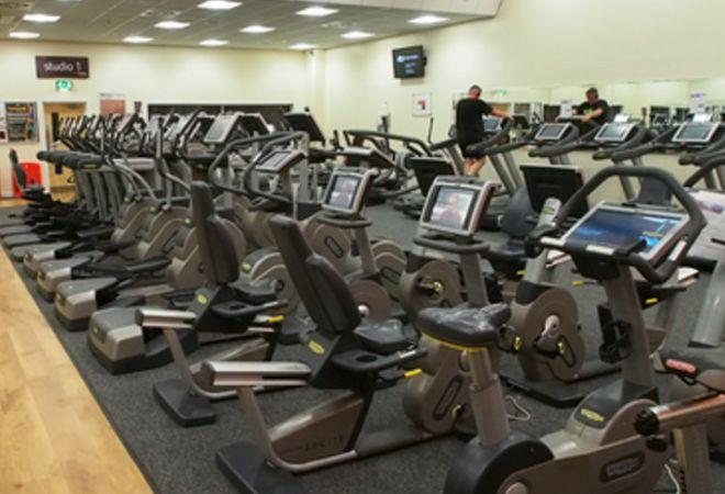 cardio equipment @ Airdrie Leisure Centre