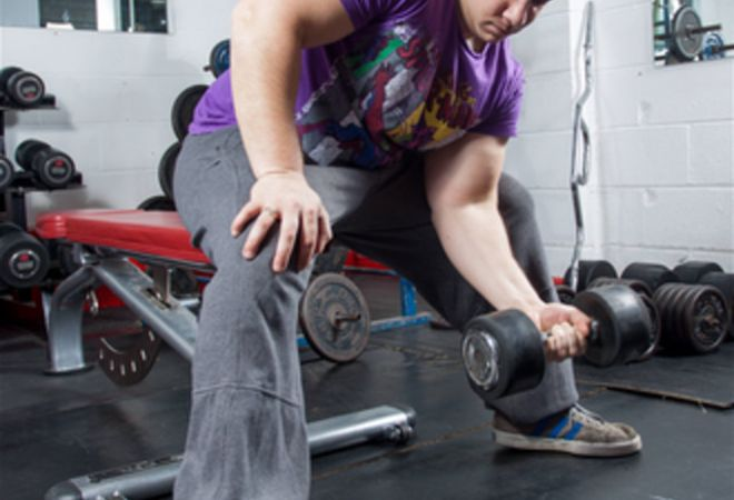 free weights at One Nation Health Studio and Gym derby