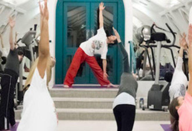 Creative Yoga London - class